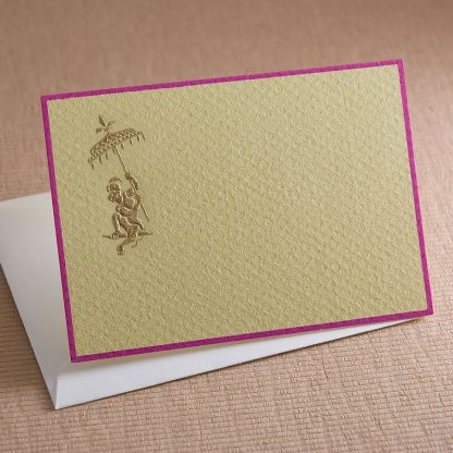 The Printery Fancy Monkey Gift Enclosure Cards