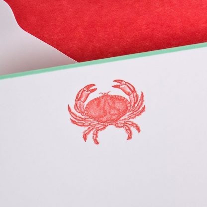 The Printery Crab Boxed Note Cards