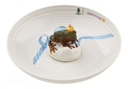 Nymphenburg Bowl with Frog