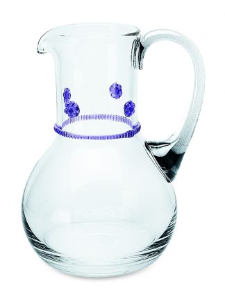 Theresienthal Bacchus Small Pitcher Purple
