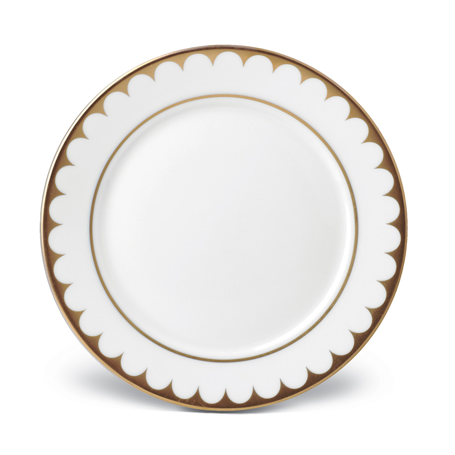 L'Objet Aegean Filet Gold Bread and Butter Plate