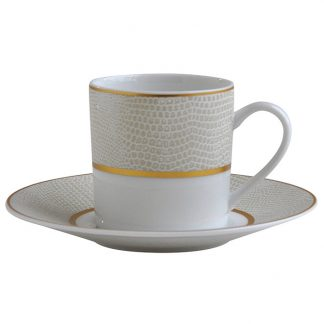 Bernardaud Sauvage Ad Cup and Saucer