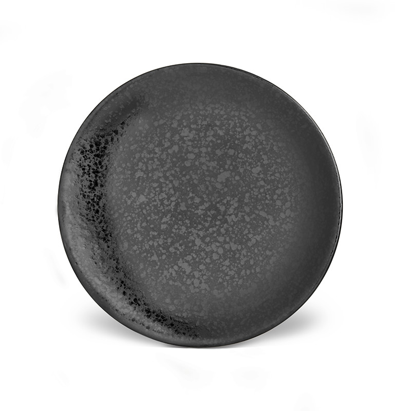 L'Objet Alchimie Black Bread and Butter Plate