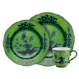 Richard Ginori Oriente Italiano Malachite Luxury Dinnerware