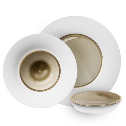 Hering Berlin Silent Brass Gold Dinnerware