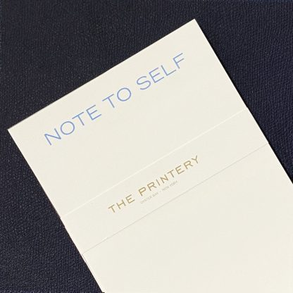 The Printery Note to Self Notepad Designer Office Accessories