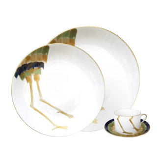 Marie Daage Birds Custom Dinnerware