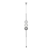 Venini Abaco 3 Sphere Suspension Light Crystal