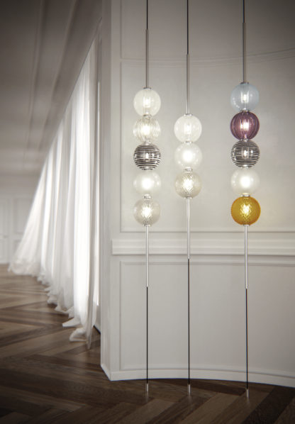 Venini Abaco Suspension Lights Mood 2