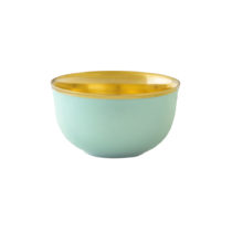 Augarten Champagne Cup Light Green With Gold