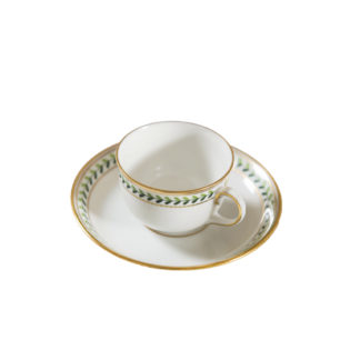 Augarten Old Viennese Tea Cup and Saucer