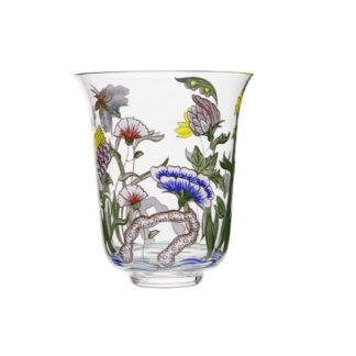 Lobmeyr Oriental Tumbler with Chinese Flower at Kneen & Co.