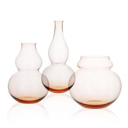 Lobmeyr Calabash Flower Vases Rosalin Parent