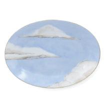 Jonathan Hansen X Marie Daage Ciels Bleus Oval Platter