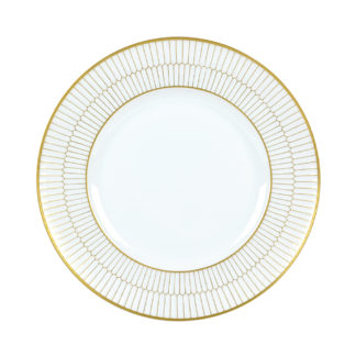 Nymphenburg Orion Honeycomb Gold Dinner Plate